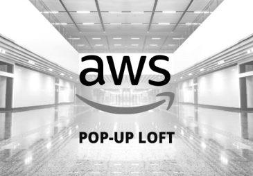 Möt oss på AWS Pop-Up Loft