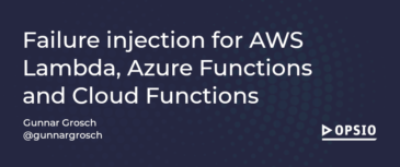 Failure injection for AWS Lambda, Azure Functions and Cloud Functions